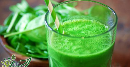 اسموتی سبزیجات برای لاغری