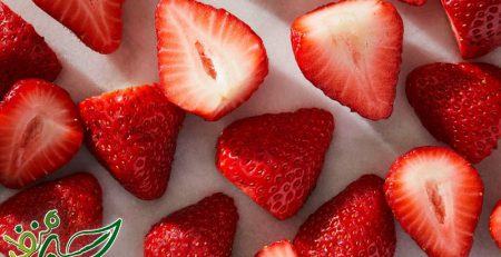 دسر میوهای ساده