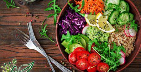 انواع سالادهای سبزیجات