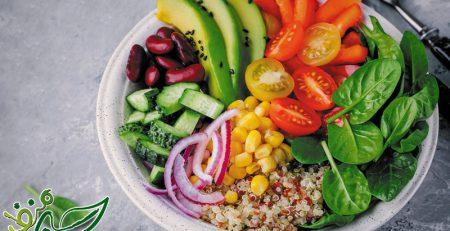 ویژگیهای غذای سالم