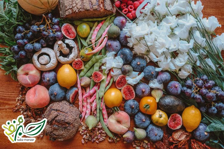 انواع غذاهای ارگانیک